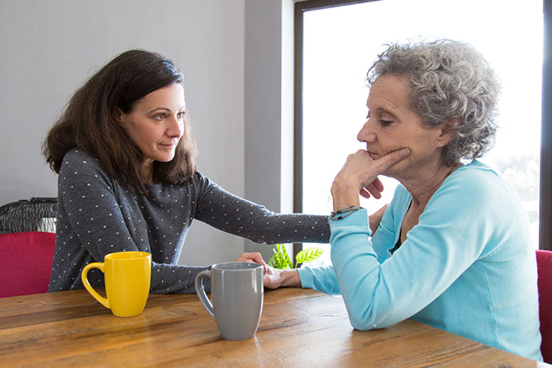 Accepting and Managing This Difficult Emotion When Caring for Aging Parents